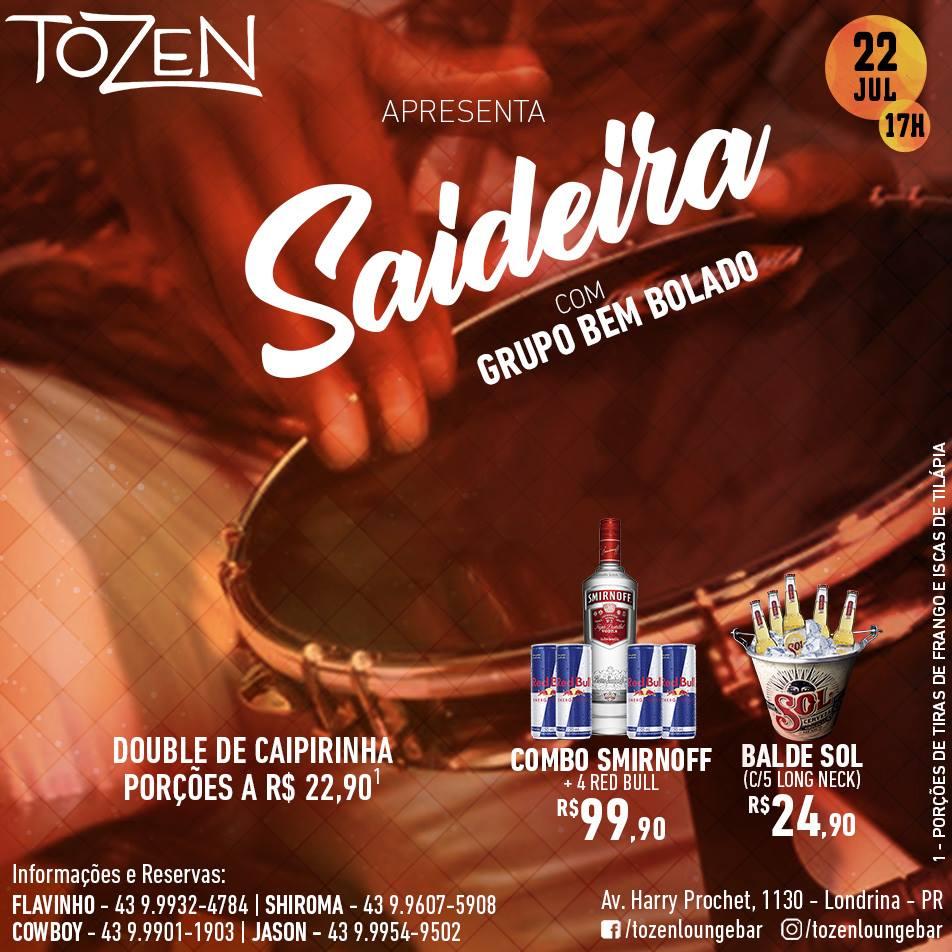 Tozen: Saideira
