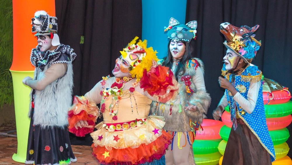Saltimbancos no Festival Internacional de Música de Londrina