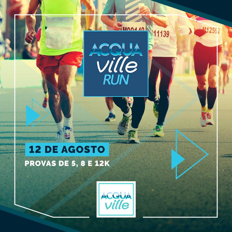 Acquaville Run será no dia 12 de agosto em Londrina!