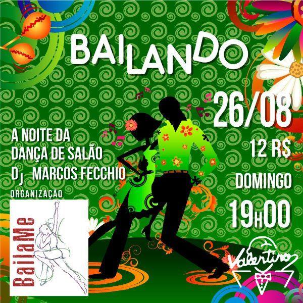 Valentino - Bailando Festa da Dança de Salão