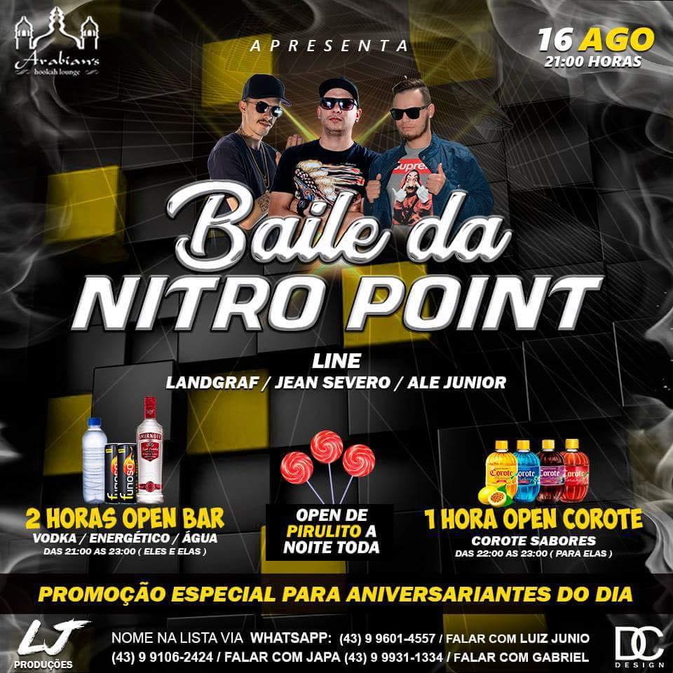 Arabian's - Baile da Nitro Point