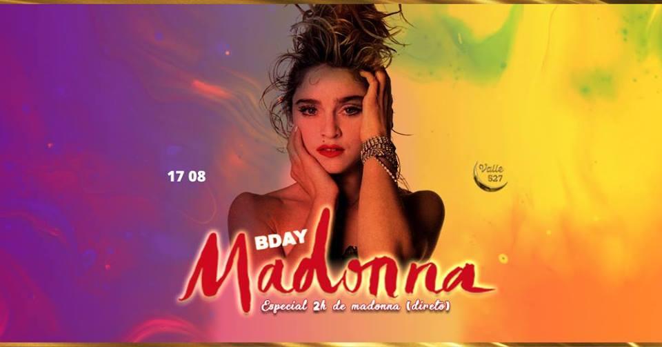 Bday Madonna - 2h Só dela!