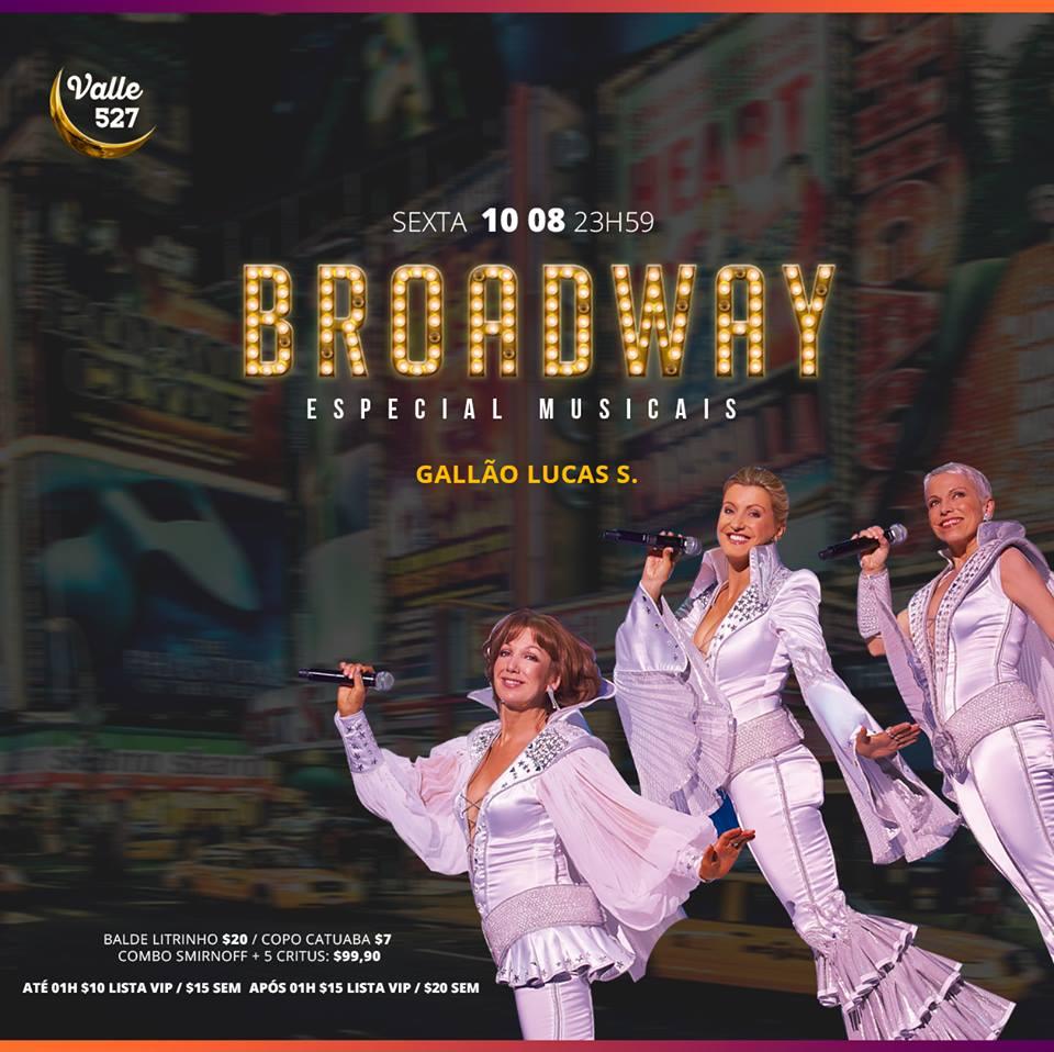 Valle Pub 527 - Broadway Especial Musicais
