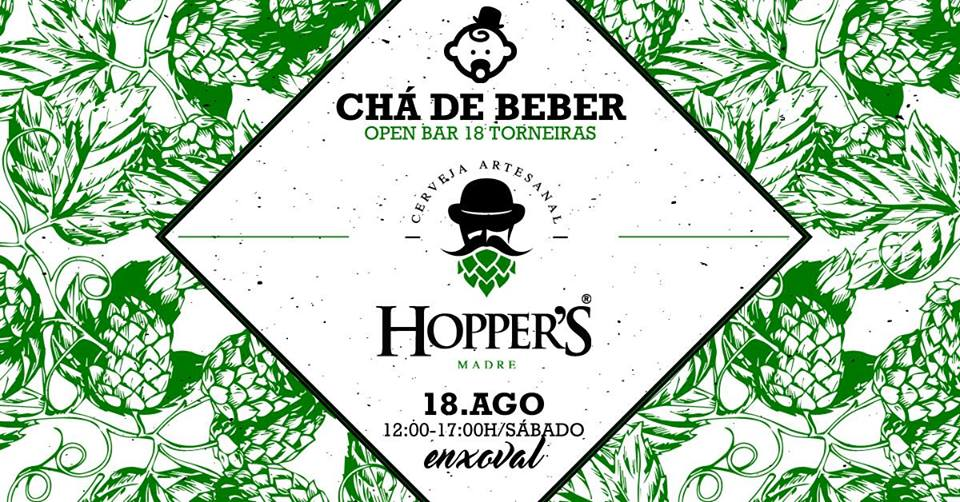 Chá de Beber - Open Bar de Cerveja Artesanal!
