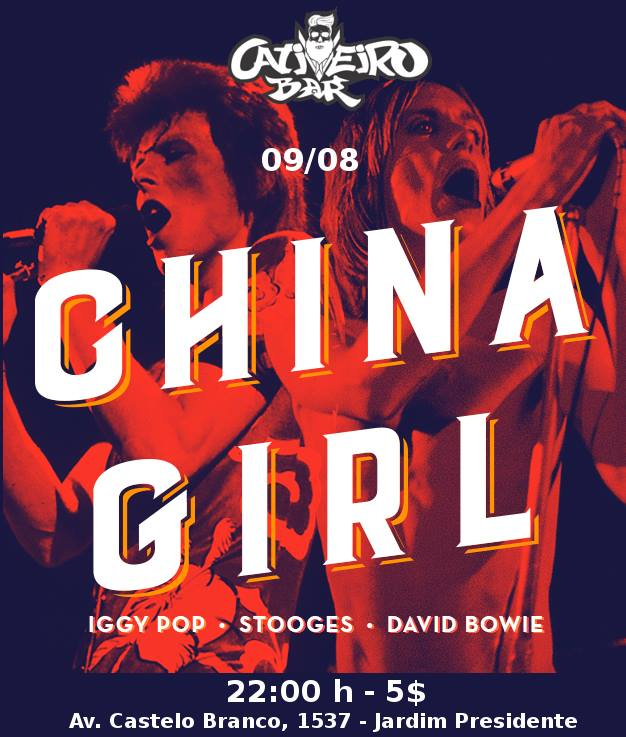 Cativeiro bar - Banda China Girl