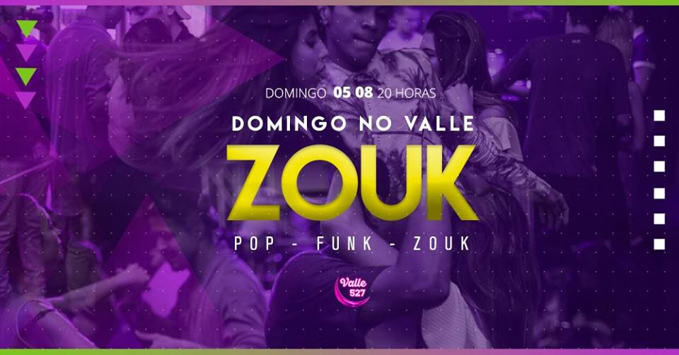 Valle 527 Pub: Domingo é Zouk