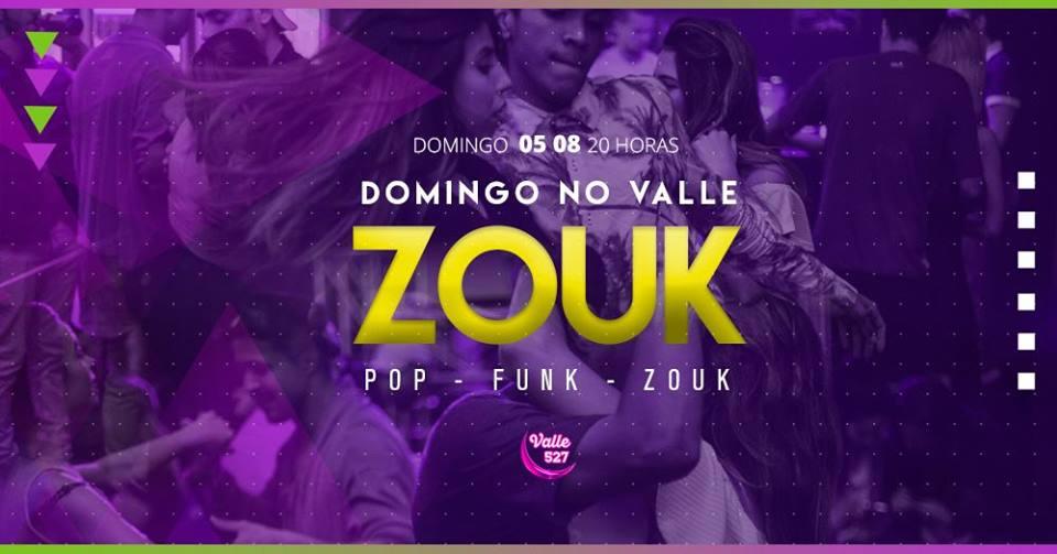Valle 527 Pub: Domingo é Zouk