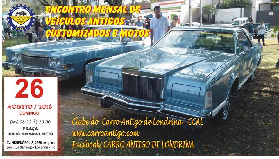 Encontro de Carros Antigos, Motos e Customizados