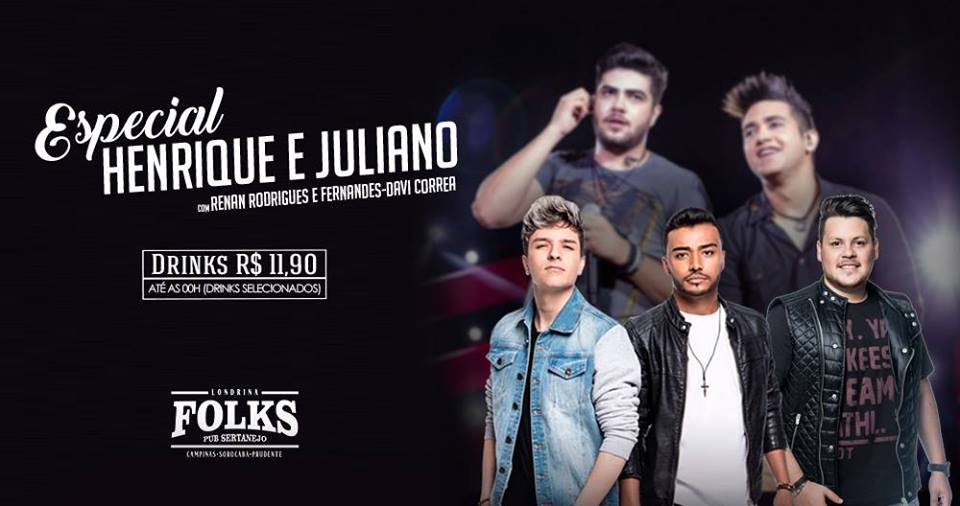 Folks - Especial Henrique e Juliano