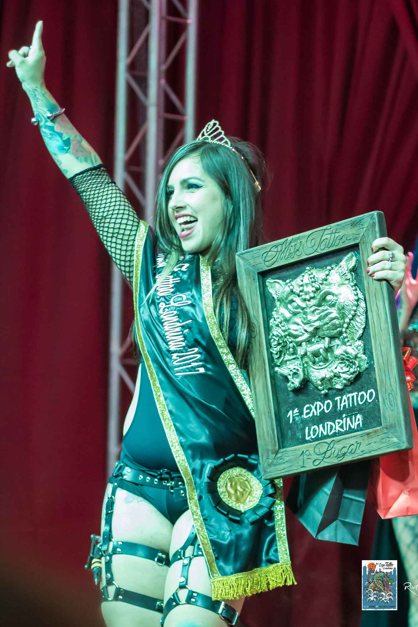 1º edição da Expo Tattoo Londrina (Foto: Rodrigo Simões)