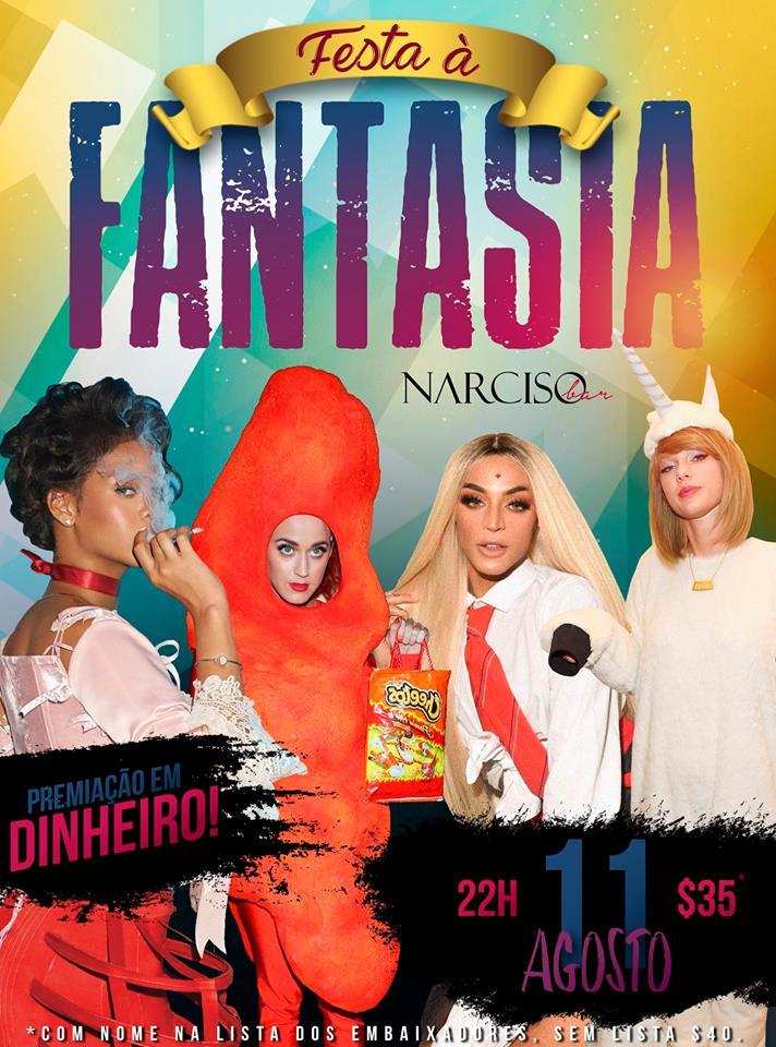 Narciso - Festa à Fantasia