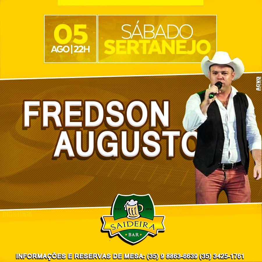 Saideira Bar: Fredson Augusto