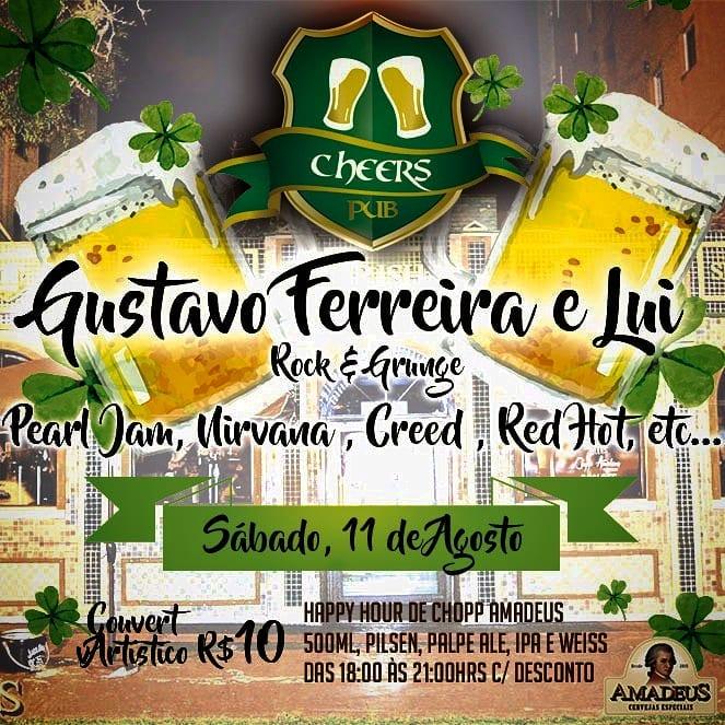Cheers pub - Gustavo Perreira e Lui