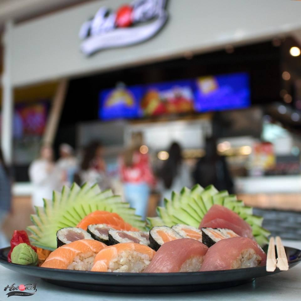 Comida japonesa em Londrina: Hot and Roll