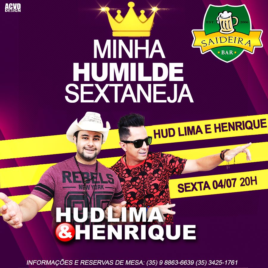 Saideira Bar: Hud Lima e Henrique