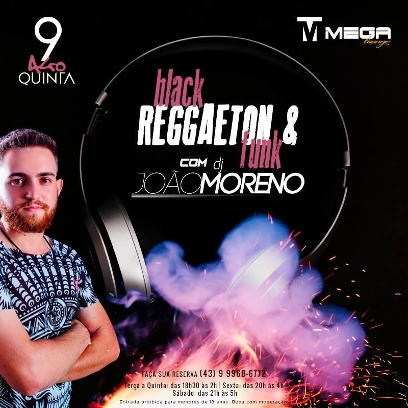 Mega Lounge - Black Reggaeton e Funk