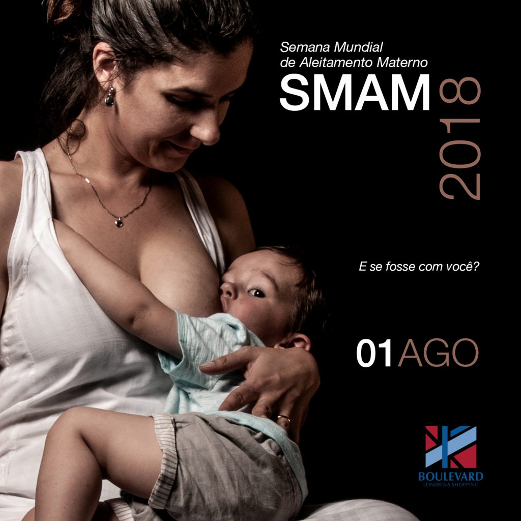 Exposição sobre aleitamento materno estará no Centro Cultural do Boulevard Londrina
