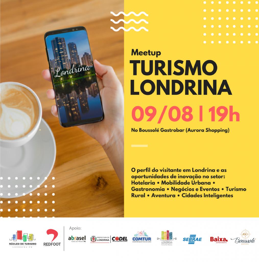 Vem aí o primeiro Meetup Londrina ligado ao setor de turismo