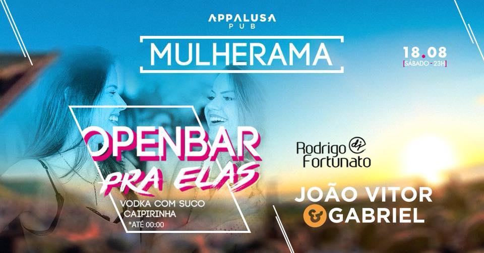 Appalusa - Mulherama • João Vitor e Gabriel