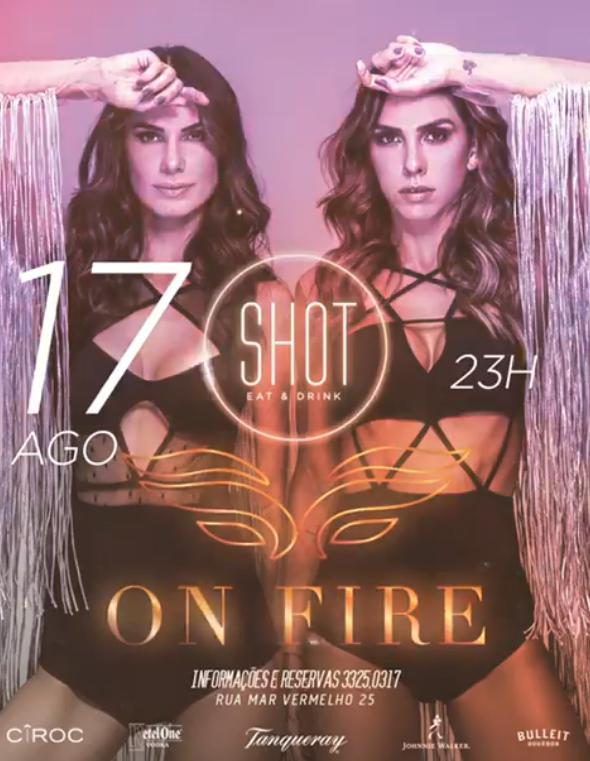 Shot, Eat & Drink - On Fire