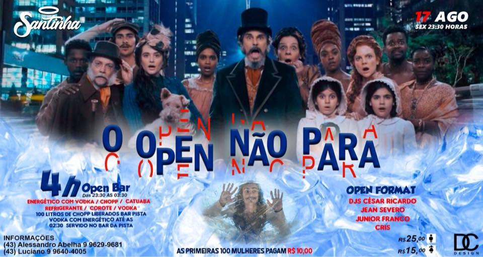 Santinha - Open não para