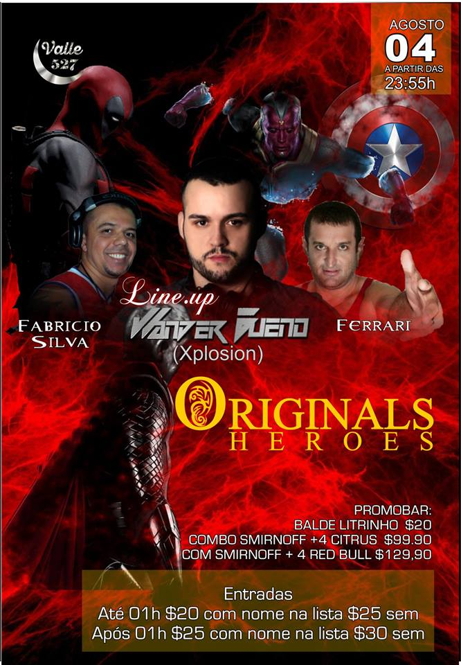 Valle 527 Pub: Originals Heroes