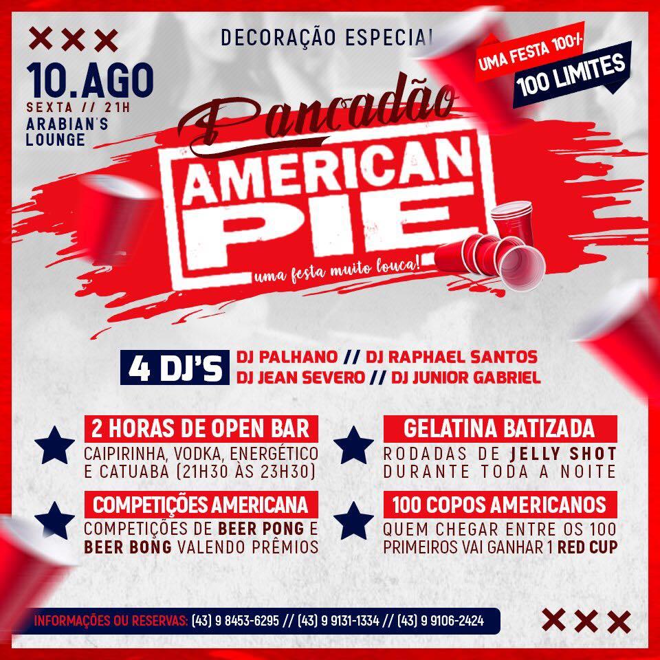Arabian's - Pancadão American Pie