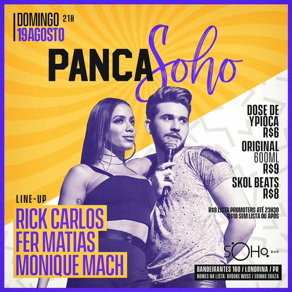 Soho bar - PancaSoho