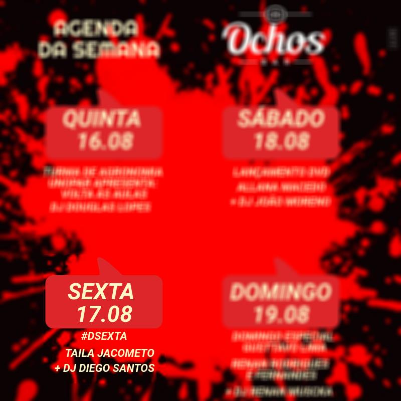 Ochos - Taila Jacometo + Dj Diego Santos