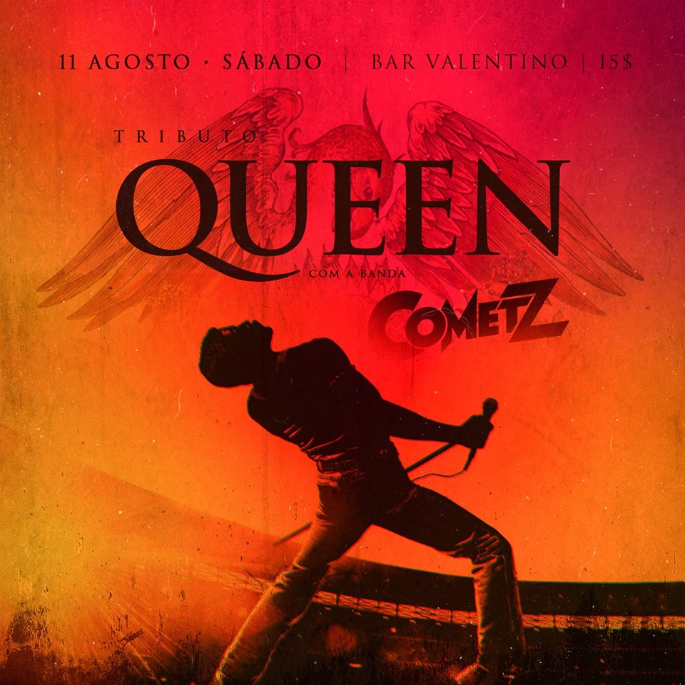 Valentino Bar - Tributo ao Queen