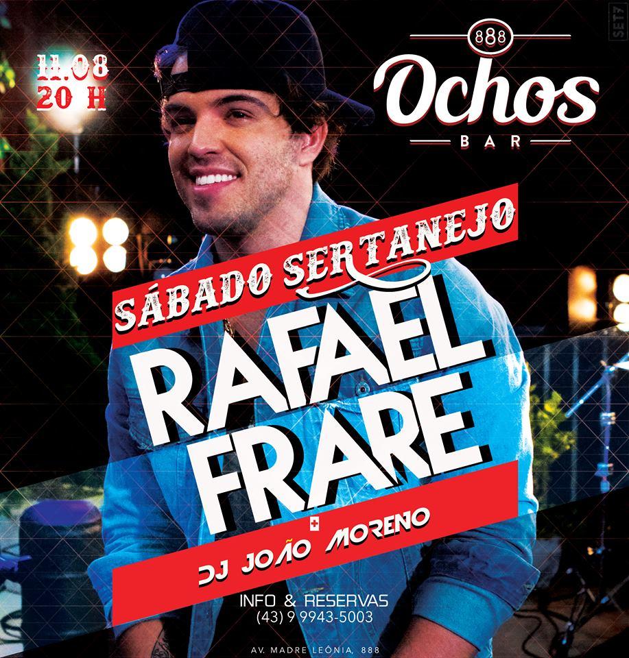 Ochos bar - Sábado Sertanejo com Rafael Frare