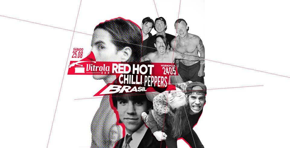 Vitrola - Red Hot Chilli Peppers Brasil