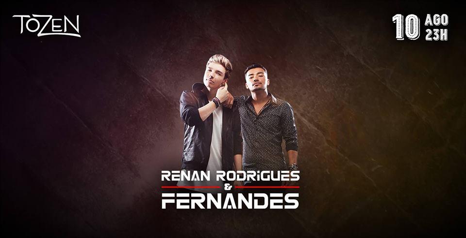 Tozen - Sexta sertaneja com Renan Rodrigues e Fernandes