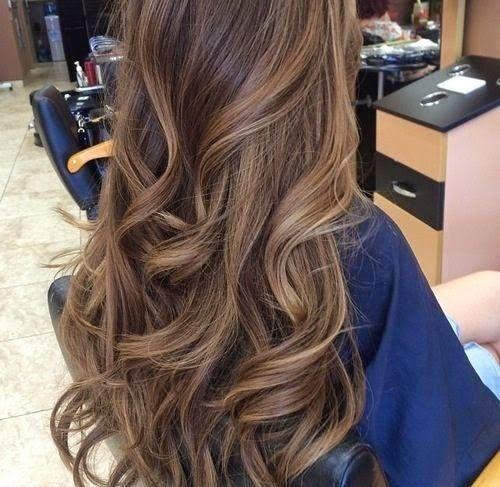 Sombré hair.