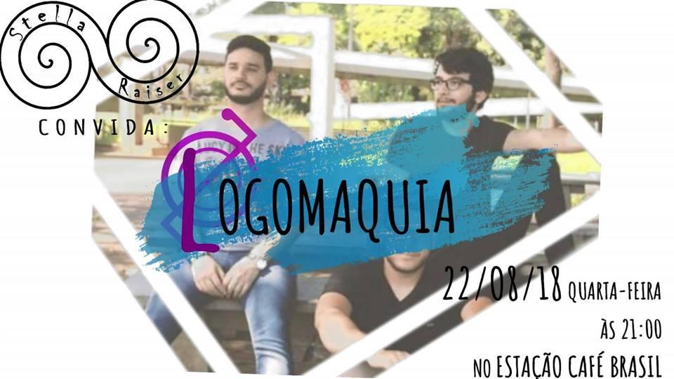 Estação Café Brasil - Stella Raiser Convida Logomaquia