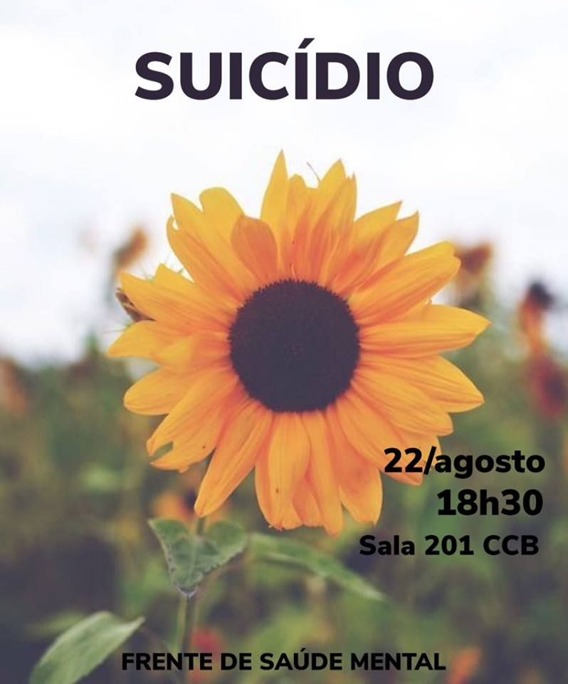 Suicídio: falar e cuidar da saúde mental