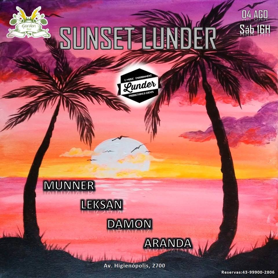 Garden Beer: Sunset Lunder