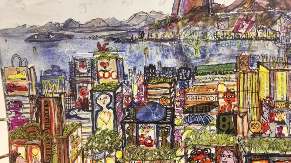Artista alemão Thitz expõe pela segunda vez no Museu de Arte de Londrina