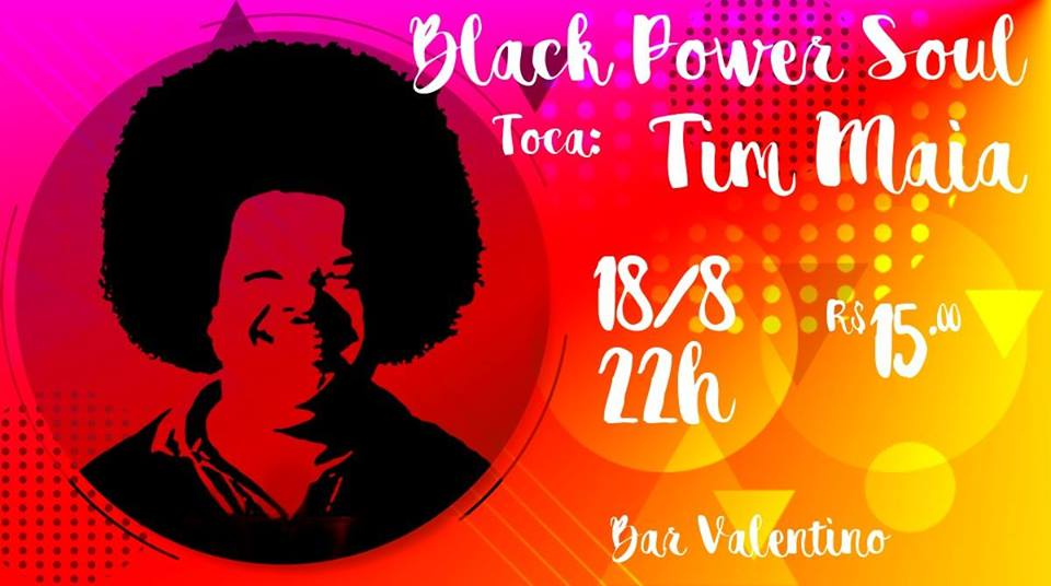 Valentino - Black Power Soul toca Tim Maia