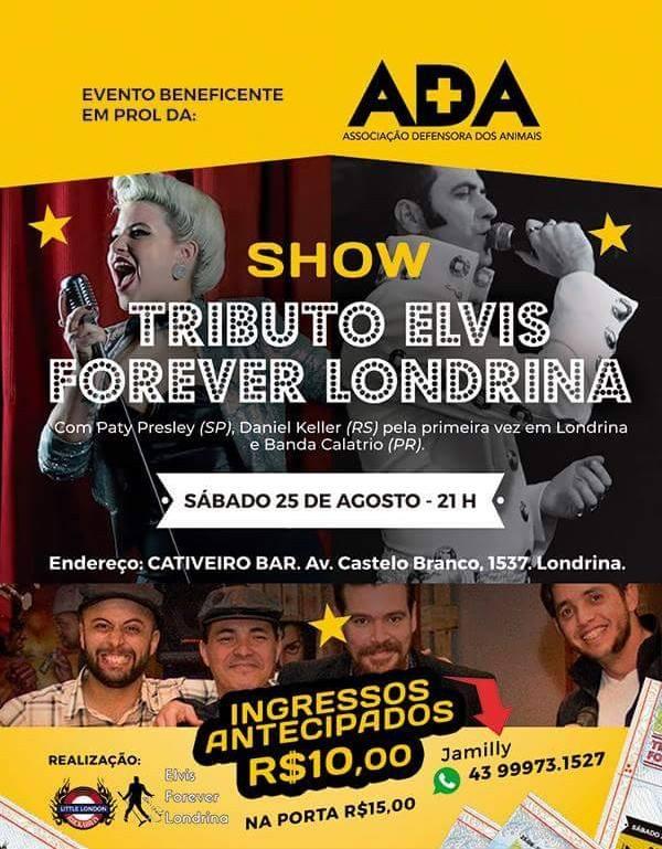 Show Tributo Elvis Forever Londrina