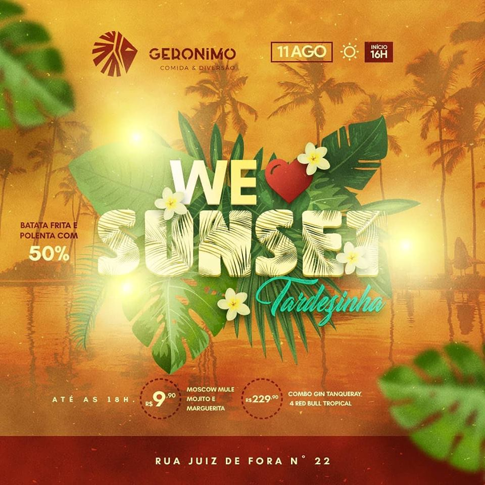 Geronimo - We Love Sunset