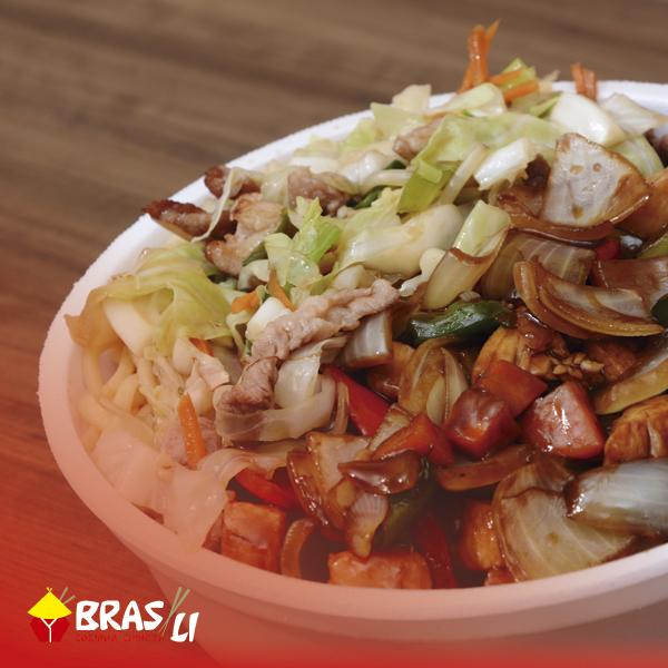 Comida chinesa em Londrina: Bras Li