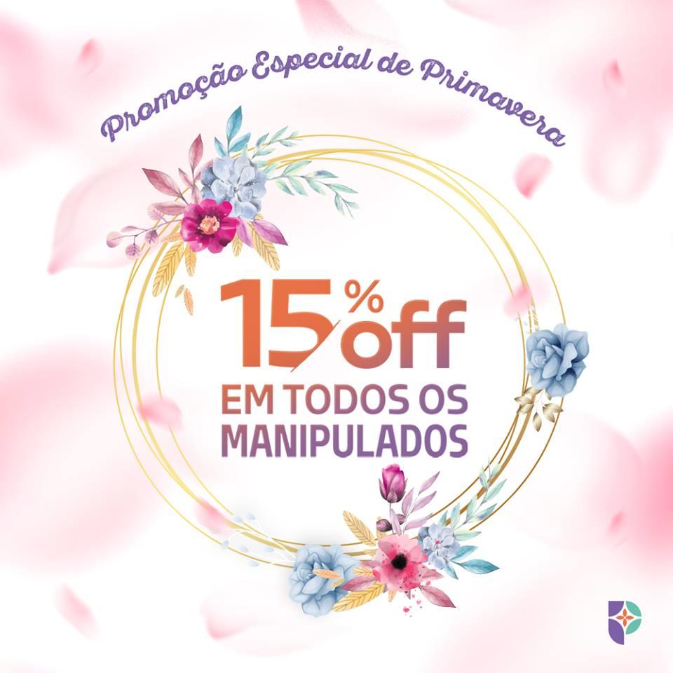 Farmácia Passiphlora está com promoção especial de primavera