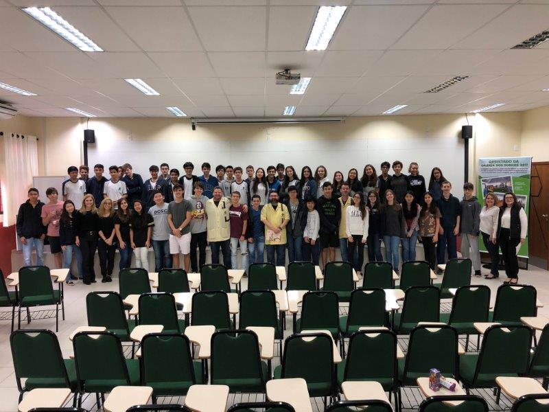 Alunos do Colégio Universitário foram destaque na Olimpíada Brasileira de Física