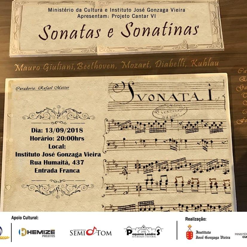 Londrina recebe noite de sonatas e sonatinas