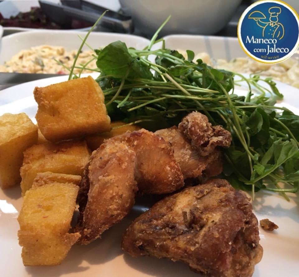 Comida mineira no Maneco com Jaleco: mandioca frita