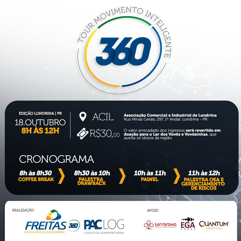 2° Tour Movimento Inteligente debate comércio exterior em Londrina