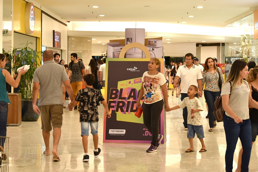 Catuaí Londrina: Shoppings da brMalls prontos para a Black Friday