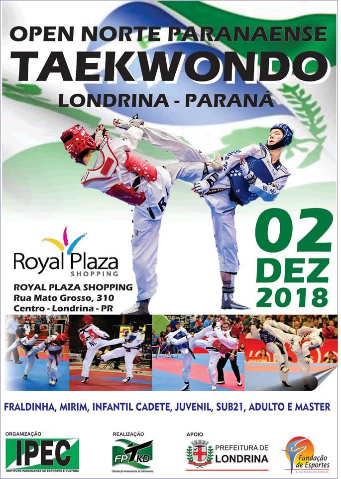 Campeonato de taekwondo movimenta Londrina no domingo (2)
