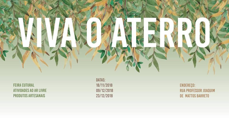 Associação dos Moradores e Amigos do Jardim Maringá realiza a Feira Cultural Viva o Aterro
